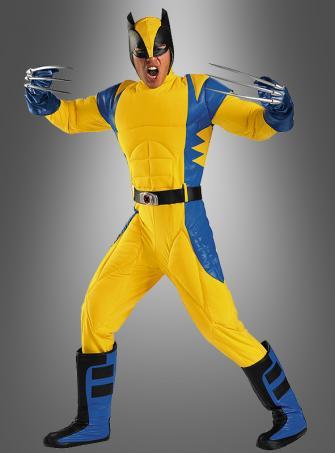 Wolverine X-Men Deluxe Kostüm