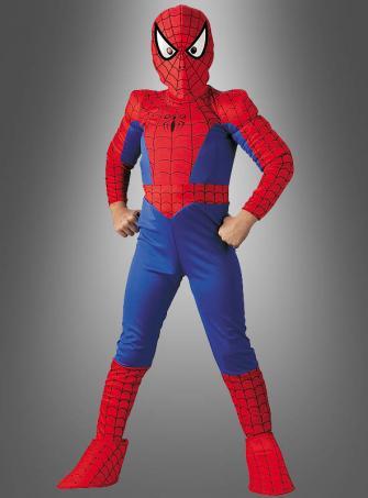 Spiderman Muscle Chest Children
