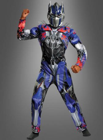 Optimus Prime Transformers Costume Child