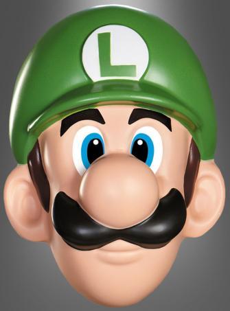 Luigi Mask Adult