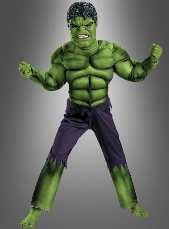 Hulk Muscle Chest Costume Children