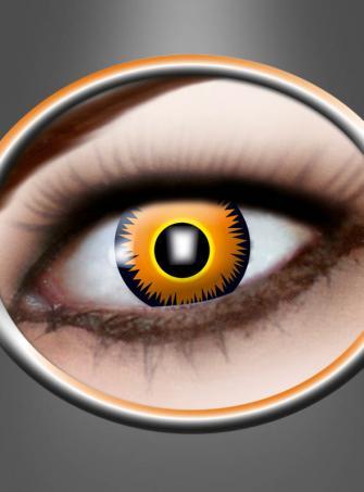 Yellow Contact Lenses Lion