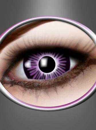 Big Eye Contact Lenses purple