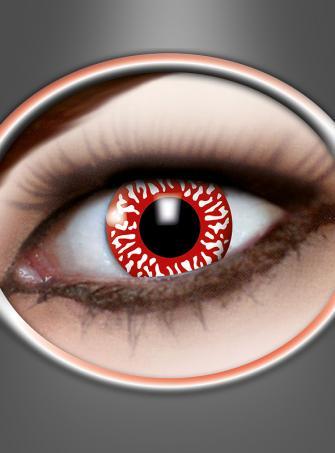 Kontaktlinsen Blutunterlaufen