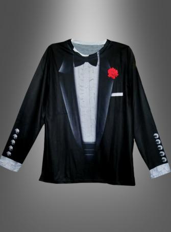 Funshirt Tuxedo with flower