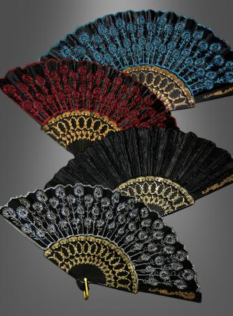 Fächer Pfauenauge in versch. Farben