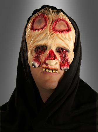 Zombie Horror Halbmaske