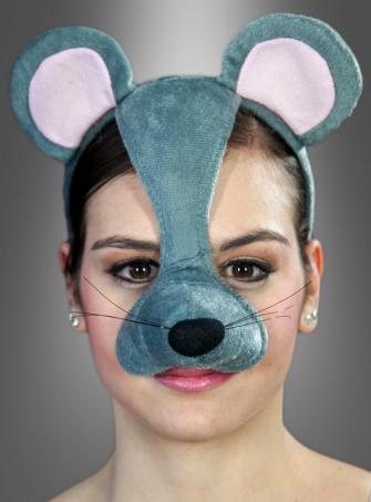 Mäuseohren und Nase mit Sound