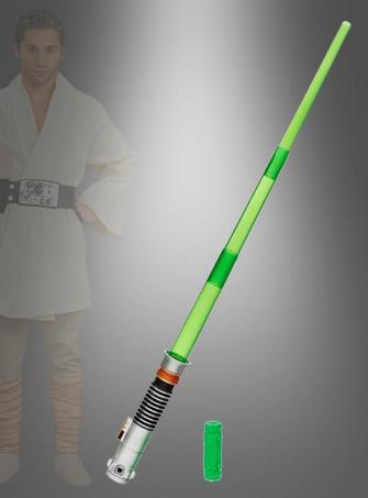 Luke Skywalker Bladebuilder elektronisches Lichtschwert grün