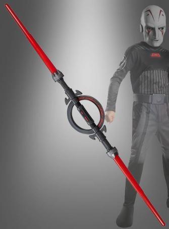 Star Wars Inquisitor Doppelklingen Lichtschwert rot