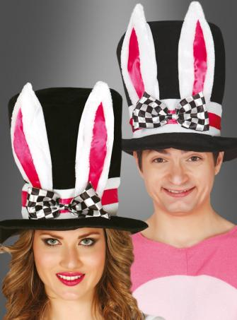 Top Hat with Bunny Ears