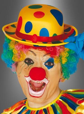 Clown Hut mit Punkten