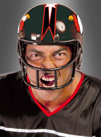 Football Helm schwarz