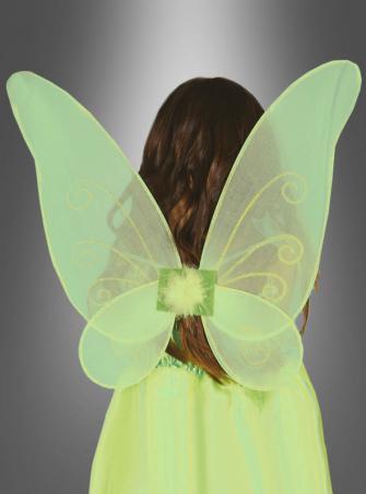Grüne Elfenflügel für Kinder