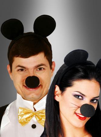 Maus Ohren schwarz