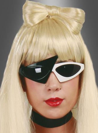 Sunglasses Gaga black white