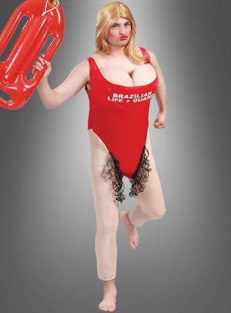 Life Guard Swimmer Fun Costume