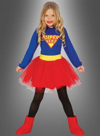 Superheldin Kinderkostüm