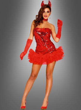 Sexy Devil Woman Costume