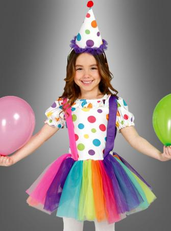 Sweet Clown Costume for Girls