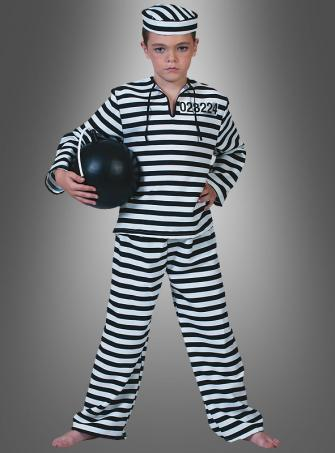 Prisoner Costume for Kids