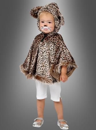 Leoparden Cape für Kinder