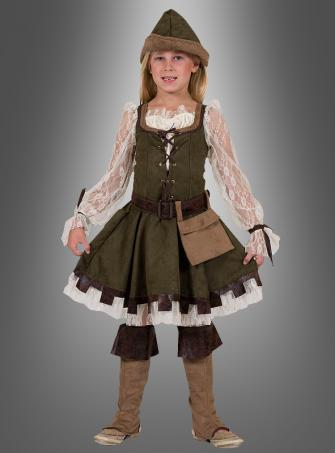Robin Hood Costume for Girls