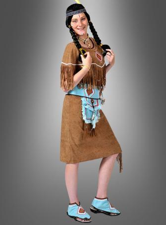 Die furchtlose Squaw Indianerin Kostüm