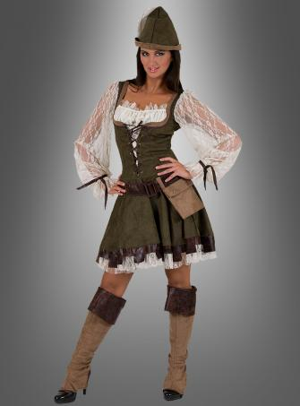 Robin Hood Women Costume