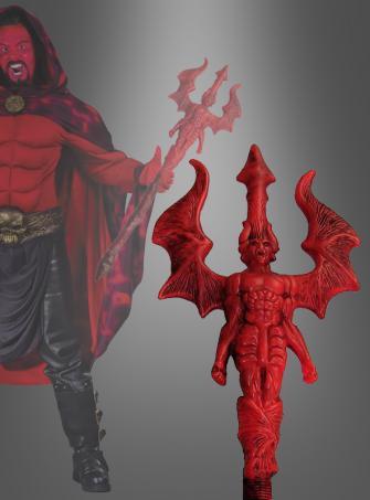 Gothic Stab rot 90 cm Teufel