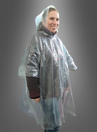 Emergency Rain Poncho Cape