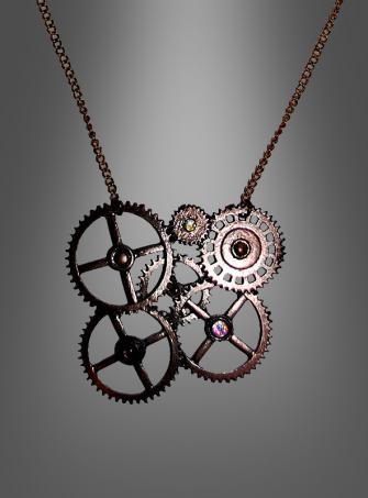 Steampunk Halskette