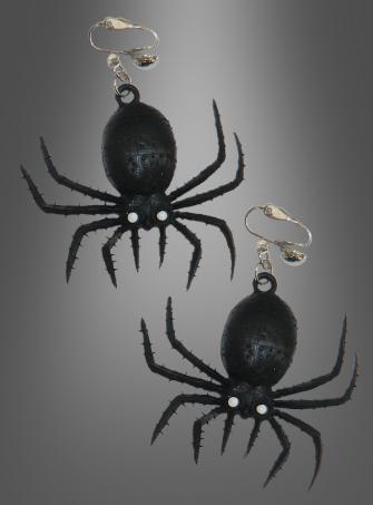 Spinnen Ohrringe Halloweenschmuck