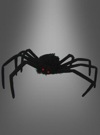 Spider with flashing lights