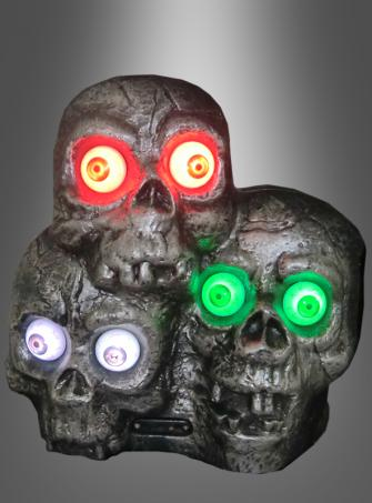 Skulls with light and sound
