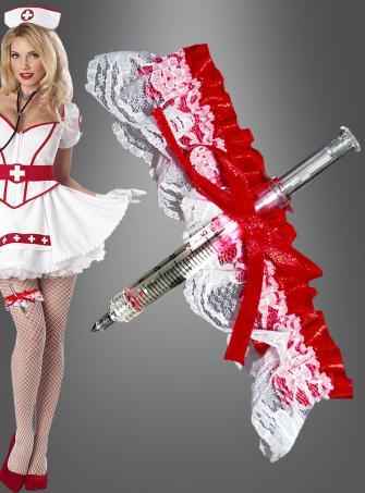 Krankenschwester Strumpfband