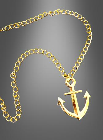 Seaman Anchor Necklace