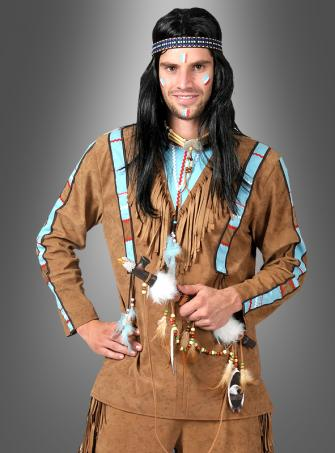 Indianerkostüm Häuptling der Apachen
