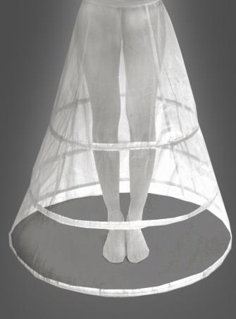 Hoop skirt long 100 cm