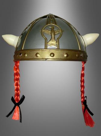 Gallier Helm mit Zöpfen