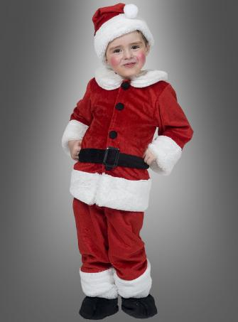 Santa Clause Children Costume