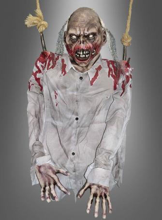 Zombie Torso an Fleischhaken 100 cm