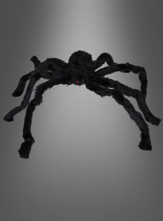 Schwarze Spinne 80 cm