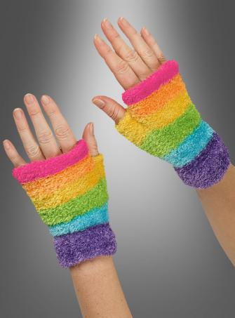Multicolor Gloves