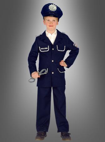 Kinder Polizei Uniform