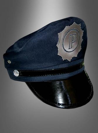 Blaue Polizei Mütze Erwachsene