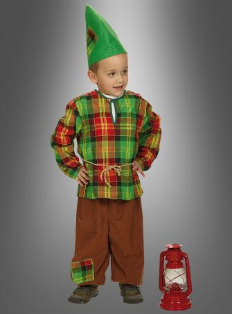 Gnome Children Costume