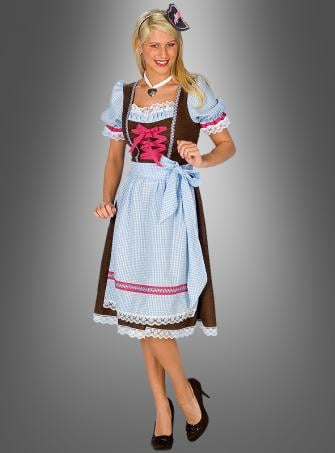 Dirndl Bavaria dress with apron