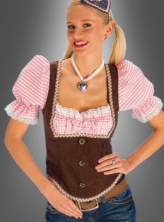 Bayrisches Mieder Tracht Kostüm