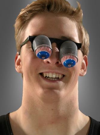 Spaßbrille mit herausfallenden Augen